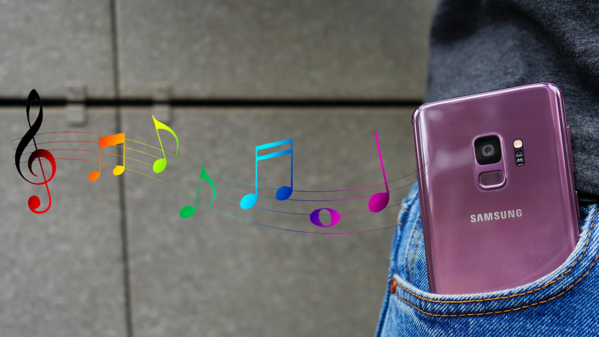 Как поставить мелодию на звонок Samsung