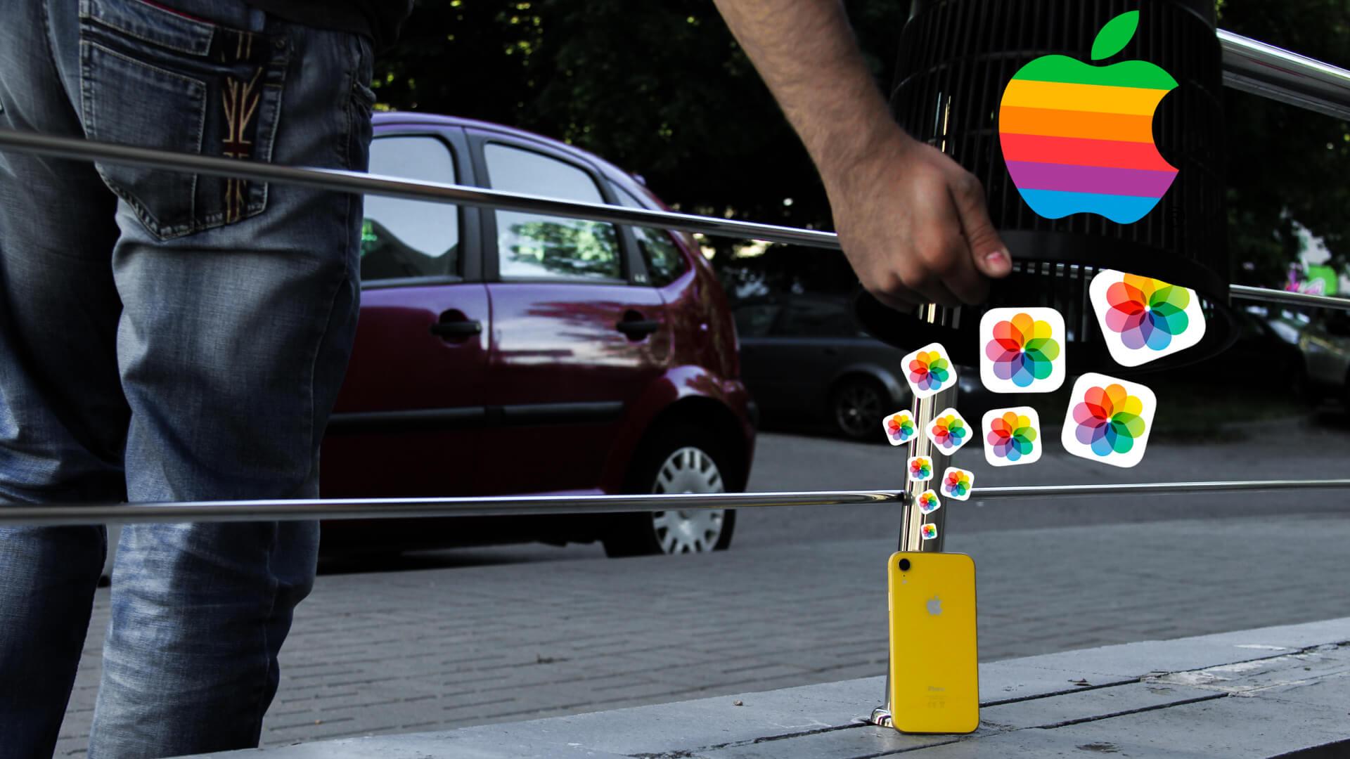 Как перенести фото с Apple iPhone на iPhone