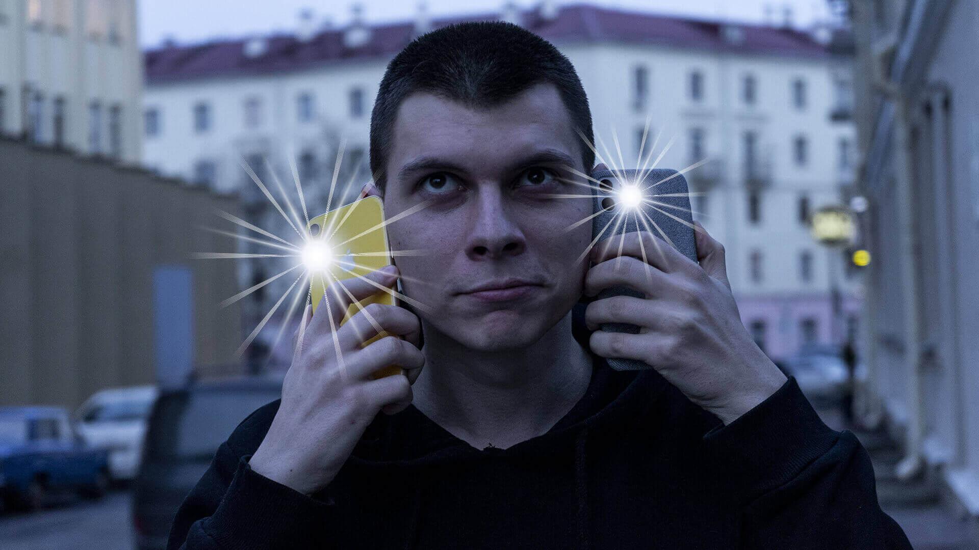 Как включить вспышку при звонке в Apple iPhone