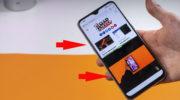 Как разделить экран в смартфоне Realme