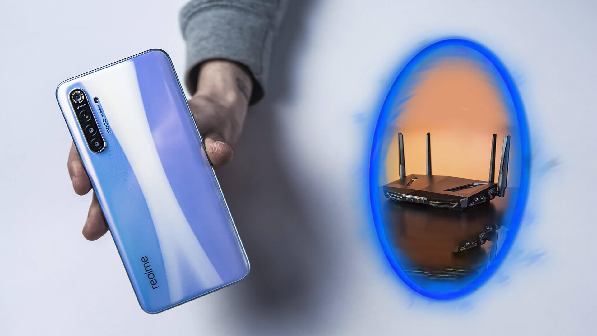Как раздать интернет со смартфона Realme