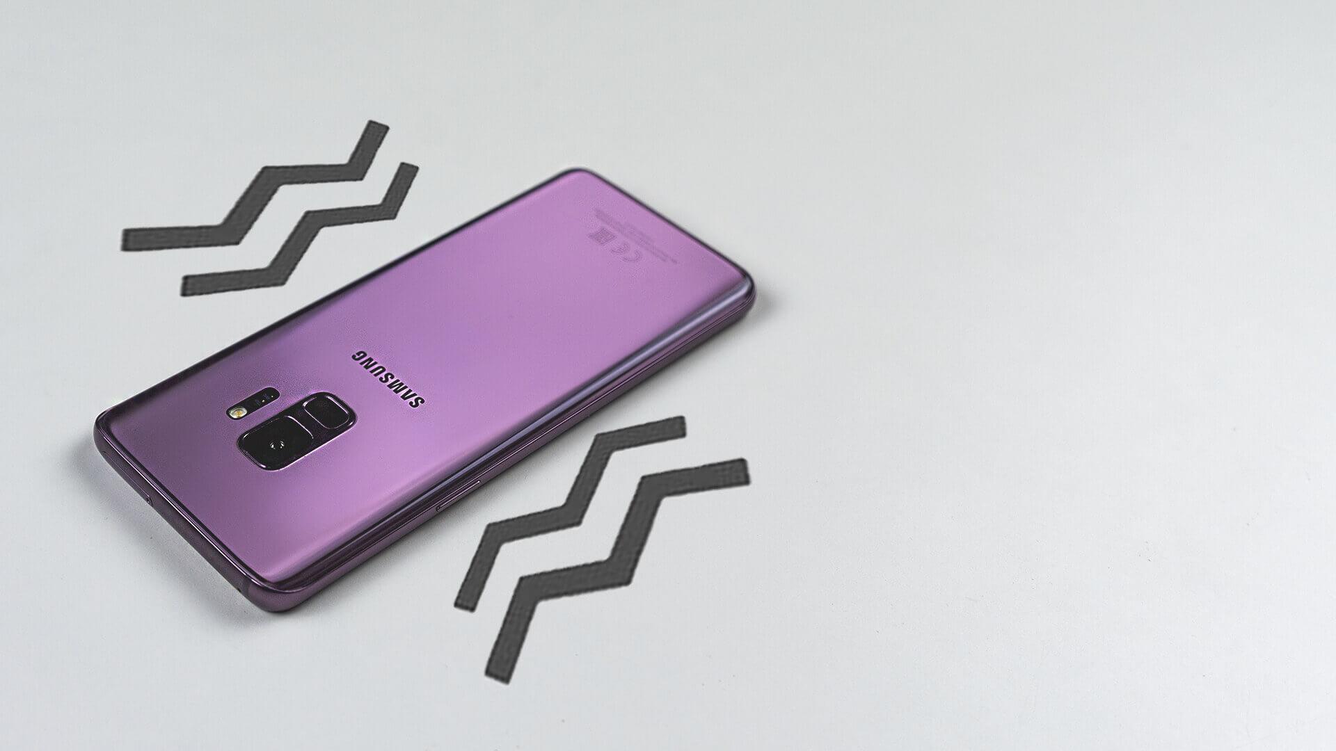 Как активировать вибрацию во время звонка на Samsung