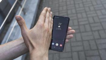 Как делать скриншот ладонью на смартфоне Samsung