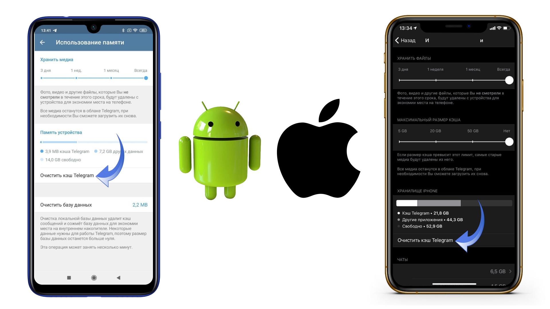 приложения занимают много места андроид